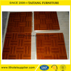 Modern Interlocking Wood Dance Floor Used Easy Set up with Stainless Steel Edge pictures & photos