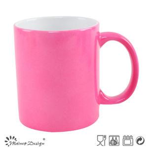 Pink Color Sublimation Color Change Mug pictures & photos