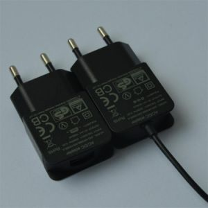 5V1000mA AC/DC EU Plug Power Adapter with CE, GS Certificate pictures & photos