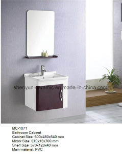Bathroom Furniture Bathroom Cabinet with Wash Basin (MC-1071) pictures & photos