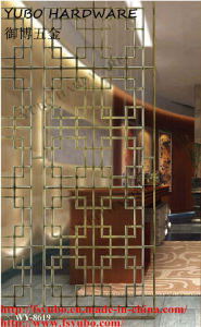 Metal / Stainless Steel / Copper Divider Screens for Living Room (WY-8619)
