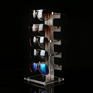 Frosted Acrylic Eyewear Holders, Acrylic Sunglasses Display pictures & photos