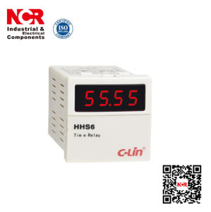380V Digital Display Time Relay (HHS6) pictures & photos