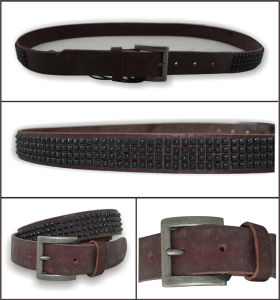 Red Brown Lady′s Fashion Belt pictures & photos