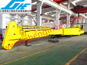 Electrical Hydraulic Telescopic Boom Marine Crane 3t@40m pictures & photos