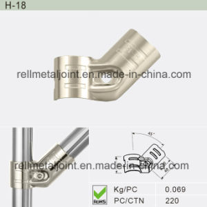 Nickel Plated Metal Joint for Industrial Racking System (H-18) pictures & photos