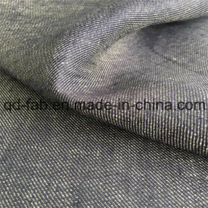 Yarn Dyed Twill Linen Fabric (QF16-2472) pictures & photos