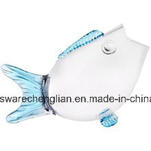 2016-New-Design-Hot-Selling-Unique Decorative Fish Shaped Clear Glass Fish Bowl (B-B001) pictures & photos
