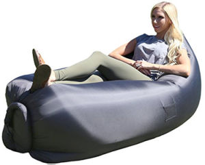 China Inflatable Sleeping Bag Hangout Sofa Inflatable Outdoor Sofa