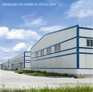 Durable Easy to Install Efficient Light Steel Structure Prefabricated House pictures & photos