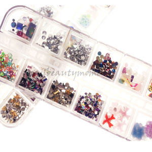 Nail Art Accessories DIY Rhinestone Decoration Kit (D67)