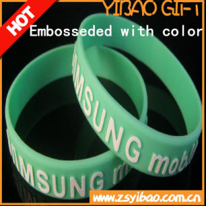 Hot Sale Custom Design Silicone Wristband (YB-LY-WR-11) pictures & photos
