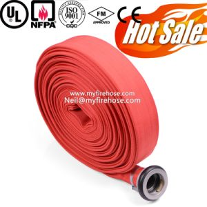 4 Inch Nitrile Rubber Fire Resistant Hydrant Fighting Hose Price pictures & photos