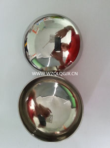 Sanitary Stainless Steel Pipe Fitting Polished End Cap pictures & photos
