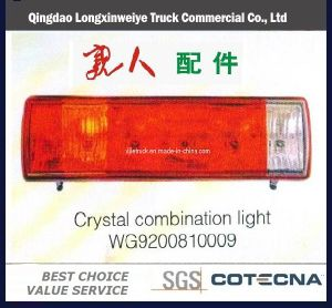 HOWO Truck Parts Combination Light pictures & photos