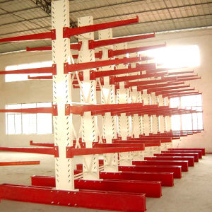 Heavy-Duty Warehouse Cantilever Metal Rack pictures & photos