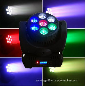 7X12W RGBW 4-in-1 LED Stage Effect Light Beam Moving Head pictures & photos