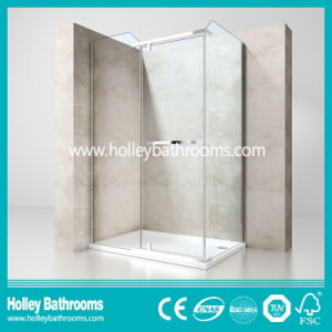 Stainless Steel Hardware Aluminum Waterproof Bar Simple Shower Cabin (SE612C)