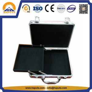 New Design Aluminum Makeup Case with One Tray (HB-2005) pictures & photos