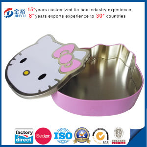 Cartoon Kitty Metal Food Packaging Box pictures & photos