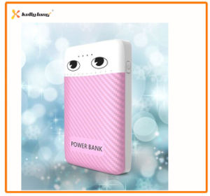 10000mAh Special Eye LED Light Power Bank USB Charger