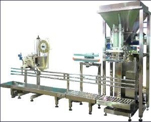 Gum Acacia Weighing Bagging Machine with Conveyor Belt pictures & photos
