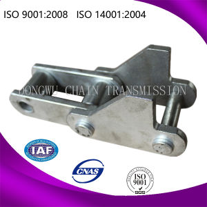 Galvanised Cast Iron Roller Bucket Cast Chain for Transmission pictures & photos
