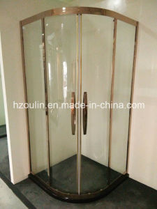 Stainless Steel Frame Shower Enclosure pictures & photos