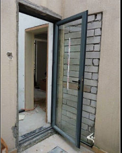 Competitive Glazing Aluminum Alloy Casement Door