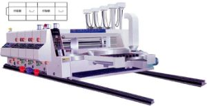 Gyk-C High Speed Automatic 3 Color Printing Slotting Machine pictures & photos