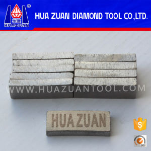New Arrival 40*6*15mm Stone Cutting Tips (Diamond Segment) with Huazuan Logo pictures & photos