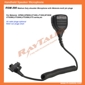 Police Speaker Microphone/ Two Way Radio Wireless Speaker Microphone Rsm300 pictures & photos