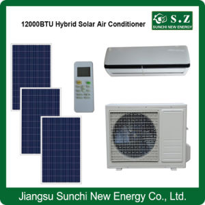 Acdc Hybrid Split Wall Home Use Solar Air Conditioners 1ton pictures & photos