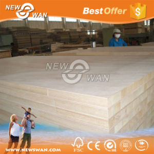 Commercial Block Board / Laminated Melamine Blockboard Poplar, Pine Core pictures & photos
