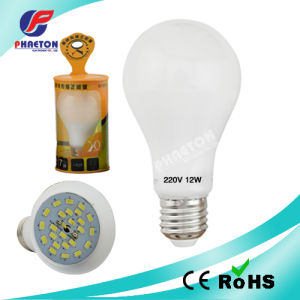 Ultrasonic LED Sealed Bulb Light A60 pictures & photos