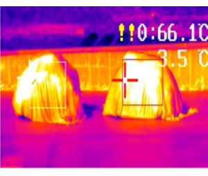 Infrared Thermal Temperature Inspecting Fire Detector pictures & photos
