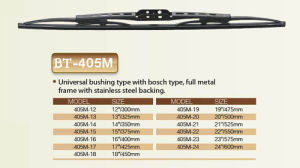Universal Type Wiper pictures & photos