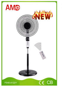 Hot-Selling Good Design Stand Fan Pedestal Fan with Remote Controller (FS40-A122Y) pictures & photos