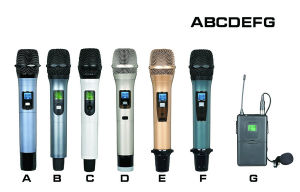 Sandy Promotion Popular Wireless Microphone K-870 pictures & photos