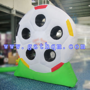 Inflatable Football Darts Model/Outdoor Sports Inflatable Shoot Dart pictures & photos