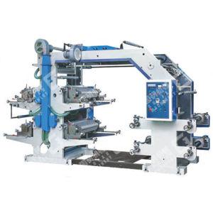 High Speed 4 Colour Flexible Printing Machine