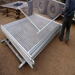 Galvanized Steel Rail Fence Use for Road Barrier pictures & photos