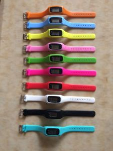 Newly Bracelet with Watch and Pedometer pictures & photos
