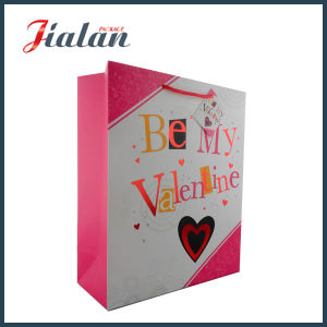 Logo Printed Custom Valentine`S Day Womans Carry Paper Bag pictures & photos