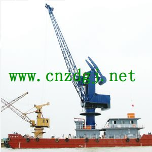 Ship Cargo Crane, Marine Crane, Deck Crane pictures & photos