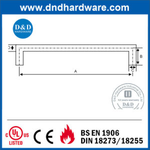 Stainless Steel Solid Pull Handle with Ce Certification (DDPH020) pictures & photos