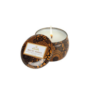 Luxury Tin Box Aroma Pure Soy Wax Candle pictures & photos