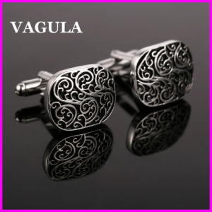 VAGULA Wholesale Engraved Cufflinks (HL10146) pictures & photos