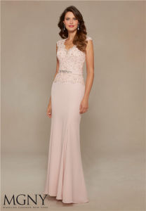 Beaded&Lace Crystail Prom Party Evening Dresses, Customized Evening Dress pictures & photos