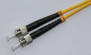 ST/UPC-ST/UPC Simplex SM 9/125 Fiber Patch Cord